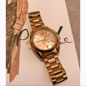 Michael Kors Rose Gold Watch Large with Dials